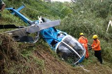 Basarnas Sebut Penyebab Helikopter Jatuh di Tasikmalaya