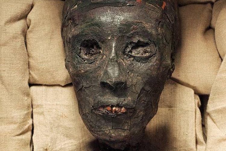 Mumi Raja Tutankhamun dari Mesir. [Via India Today]