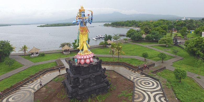 Taman Siwa di Gilimanuk, Kabupaten Jembrana, Bali.