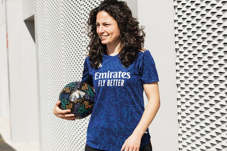 Jersey baru Real Madrid
