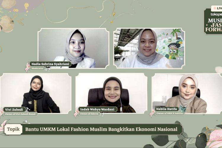 Tokopedia gelar kampanye Muslim Fash Forward yang mendorong industri fesyen muslim lokal