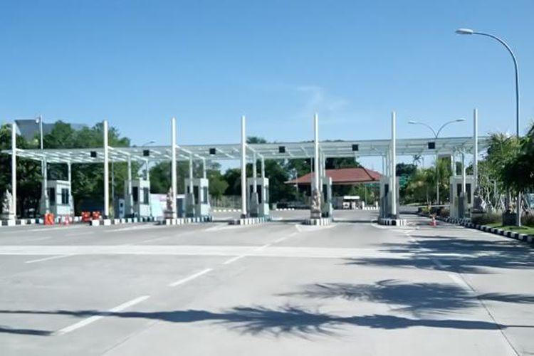 Pintu Bandara Ngurah Rai di Bali tidak ada aktifitas saat Nyepi, Rabu (9/3/2016).