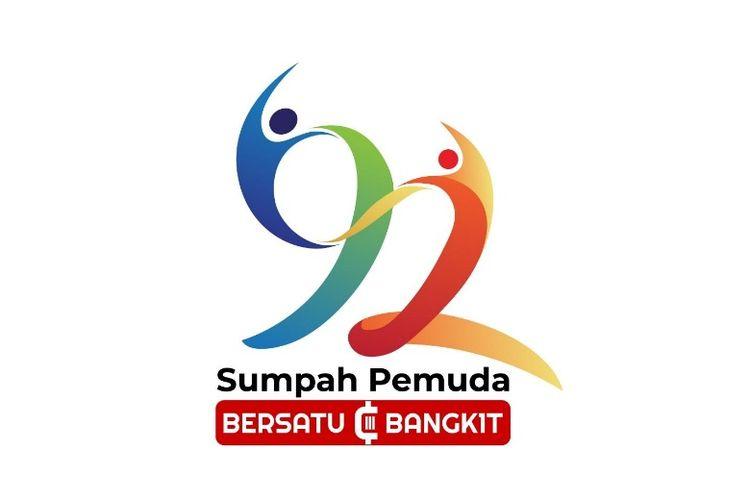 Logo perayaan ke-92 Hari Sumpah Pemuda (Dok. Kemenpora)