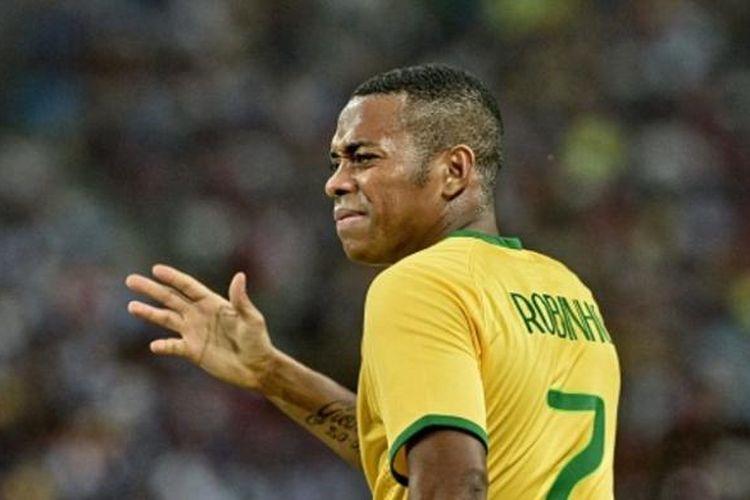 Striker tim nasional Brasil, Robinho.