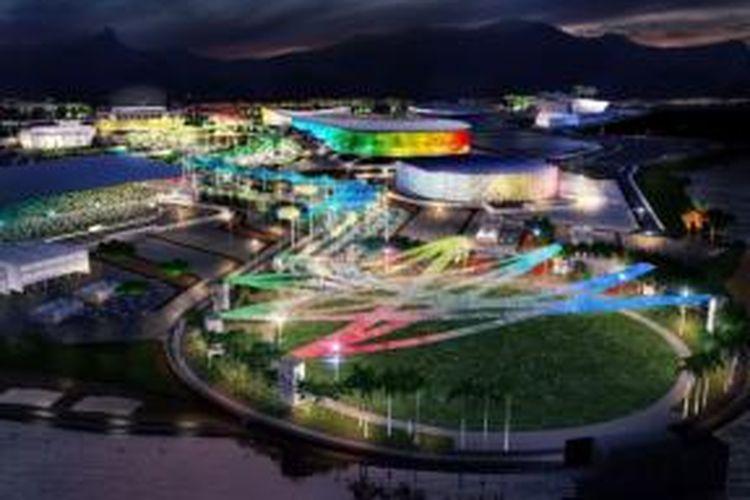 Olympic Park atau lokasi perhelatan pesta olah raga akbar dunia pada Olimpiade 2016 di Rio de Janeiro mendatang berada di semenanjung yang menghadap laut, tepatnya di daerah Barra da Tijuca.