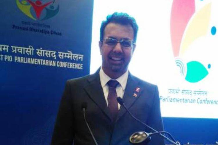 Niklaus-Samuel Gugger (48), pria keturunan India pertama yang menjadi anggota parlemen Swiss.