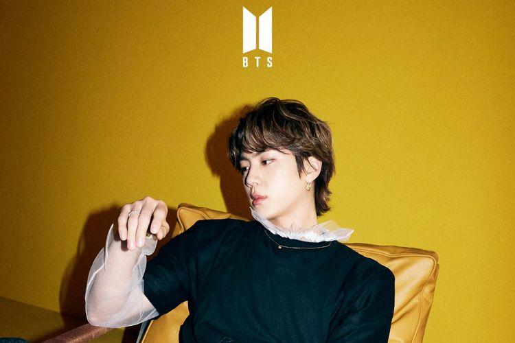 Jin BTS dalam foto teaser untuk singel Butter yang akan dirilis pada 21 Mei 2021.