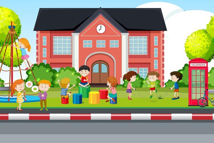 Ilustrasi sikap tanggung jawab siswa di sekolah