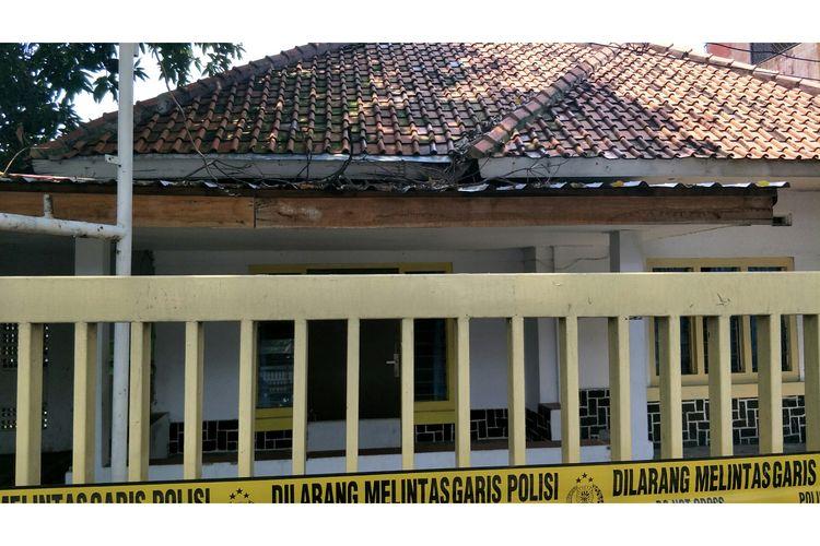 Klinik aborsi di Jalan Paseban, Senen, Jakarta Pusat, Jumat (15/2/2020).