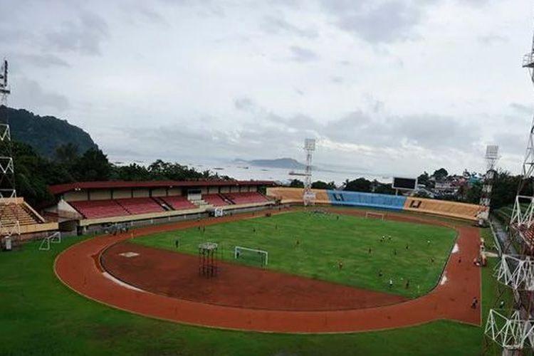 Stadion Mandala, Jayapura, Kamis (9/5/2019)