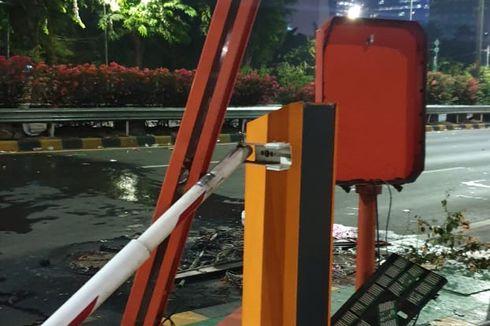 Jasa Marga Gandeng Brimob Jaga Gerbang Tol di Sekitar DPR