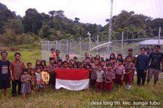 Di Kalimantan Utara, BTS Indosat Diangkut Kerbau sebelum Dipasang