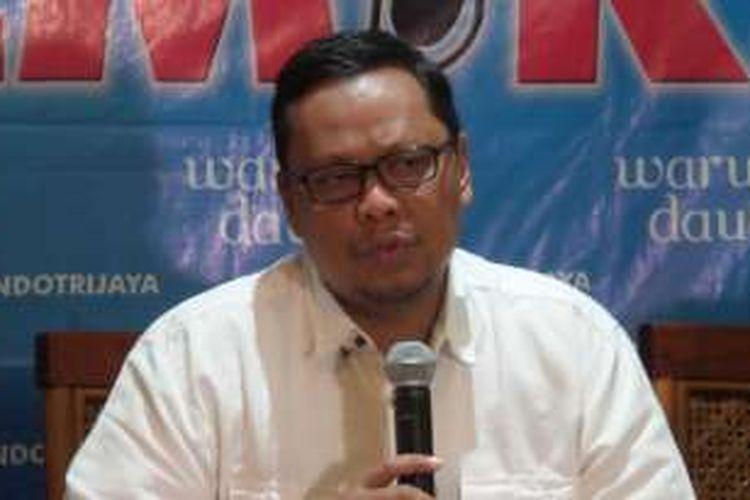 Ketua Pansus RUU Pemilu Lukman Edy