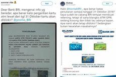 Berita Populer: Penjelasan BRI soal Pemblokiran ATM Non-Chip hingga Kopi Tuku Jokowi