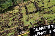 Kunjungi Situs Gunung Padang, SBY Naiki 700 Anak Tangga
