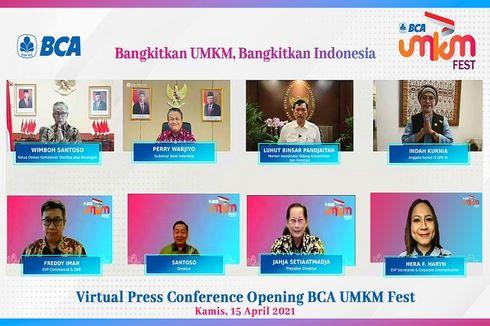 Siap Ekspor, Ribuan UMKM Ikuti Expo Virtual BCA