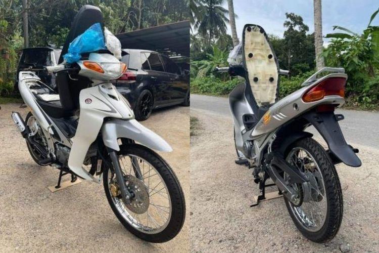 Di Malaysia ada seorang yang menjual motornya Yamaha 125Z buka harga 90.000 ringgit atau setara Rp 306 juta.