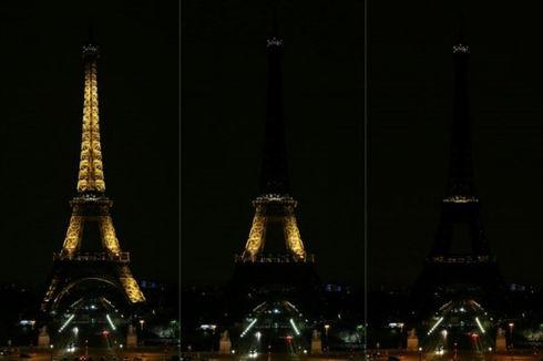 Menara Eiffel Gelap Gulita untuk Hormati Korban Penembakan Sinagoge