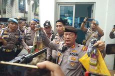 Obeng dan Bom Molotov Disita dari Siswa di Depan DPRD Sumut