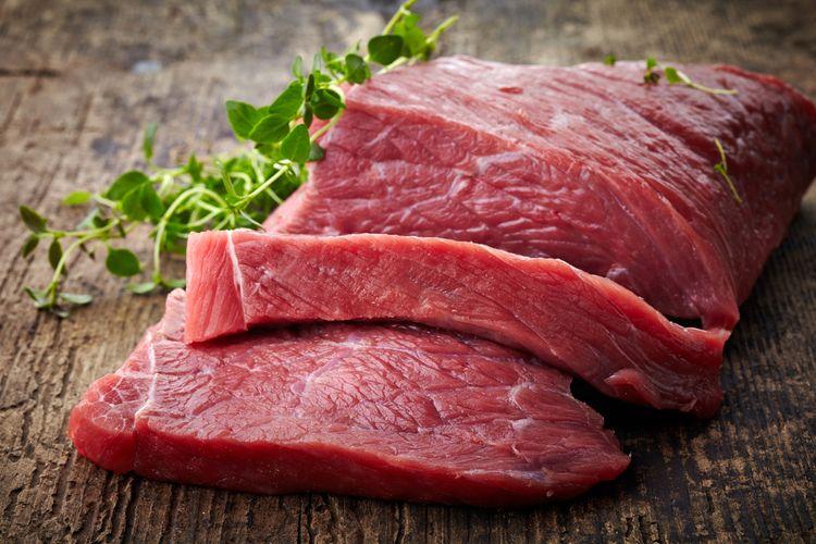 Ilustrasi daging sapi, hewan kurban