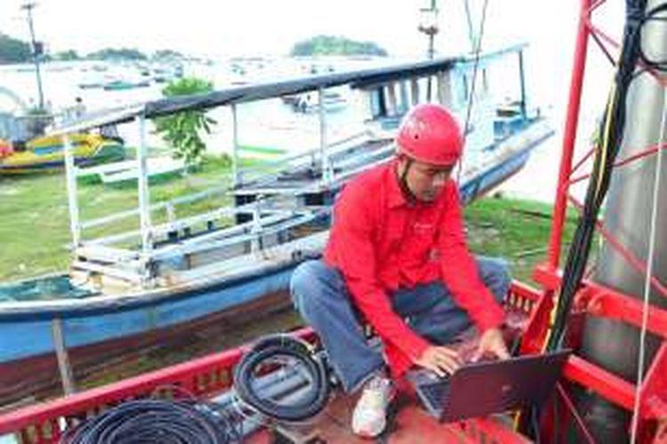 Telkomsel sudah kover 90 persen pusat kota di Belitung dan Belitung Timur