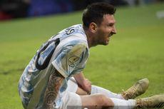 Video Messi Terkapar di Lapangan, Lalu Marahi Dokter Timnas Argentina