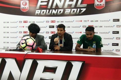 Alfredo Vera: Persebaya Pantas ke Liga 1