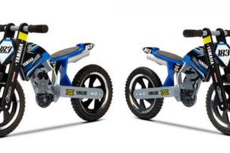 Sepeda tanpa pedal dari Yamaha, latih keseimbangan dan koordinasi anak.