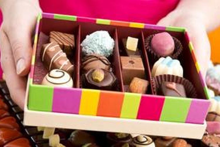 Cokelat selalu memiliki kemasan atau packaging yang menarik para penikmatnya.