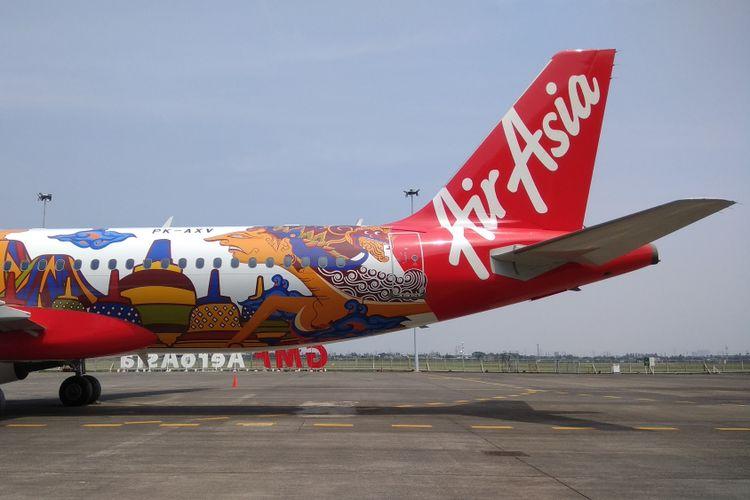 Pesawat AirAsia Indonesia bertipe Airbus 320