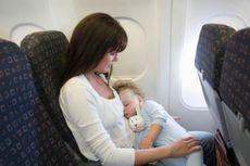 Bayi Sakit Jangan Diajak Naik Pesawat