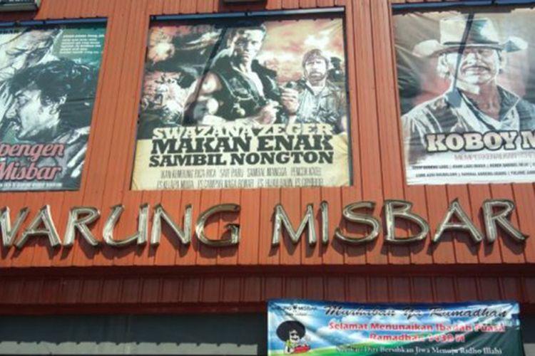 Warung Misbar di Bandung.