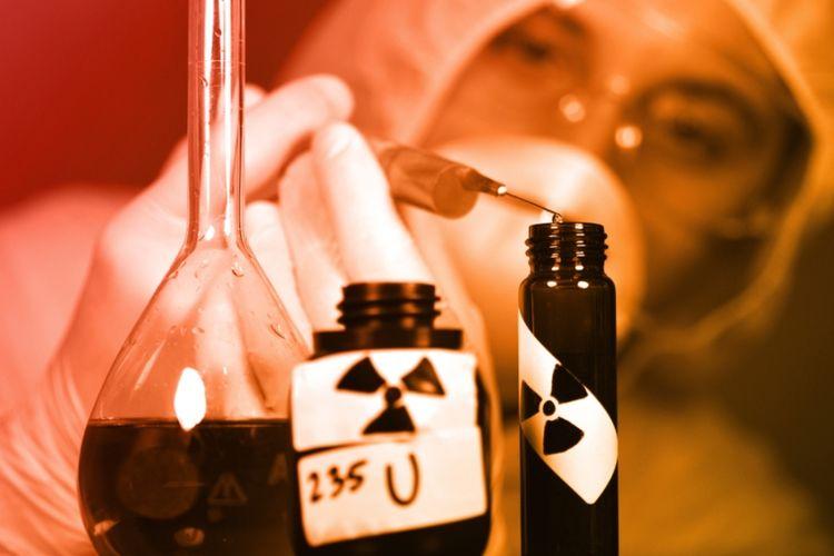 Ilustrasi uranium.