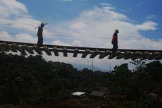 Jalur Longsor, KA Pangrango Hanya Layani Sukabumi-Cigombong