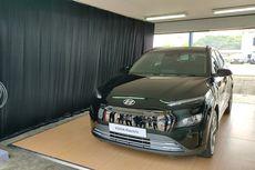 Hyundai Pamer Kona Electric Facelift di Sentul