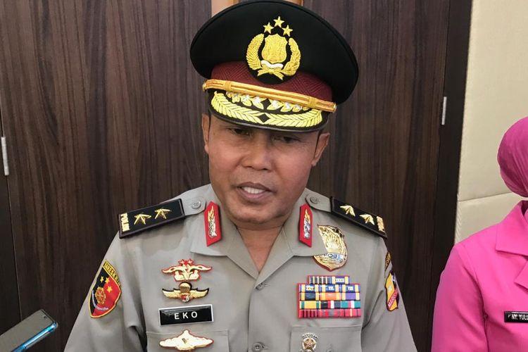 Inspektur Utama Badan Narkotika Nasional (BNN) Irjen Eko Daniyanto di Rupatama Mabes Polri, Jakarta Selatan, Kamis (13/2/2020).