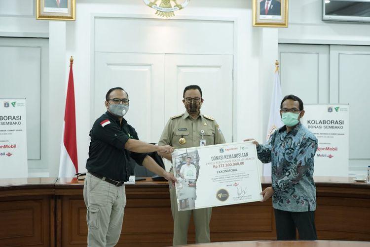 Kolaborasi Sosial Berskala Besar dari Dompet Dhuafa, Exxon Mobil, dan Pemprov DKI Jakarta dalam upaya penanganan dampak pandemi Corona.