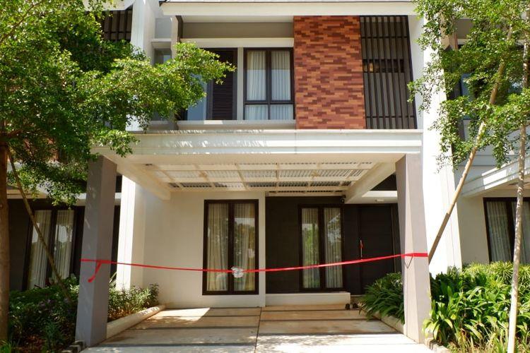 PT Mitra Bangun Prasada menghadirkan konsep rumah sehat bergaya arsitektur tropis modern Cimanggis Golf Estate, di Tapos, Depok.