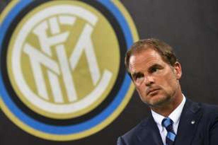 Pelatih Inter Milan, Frank de Boer.