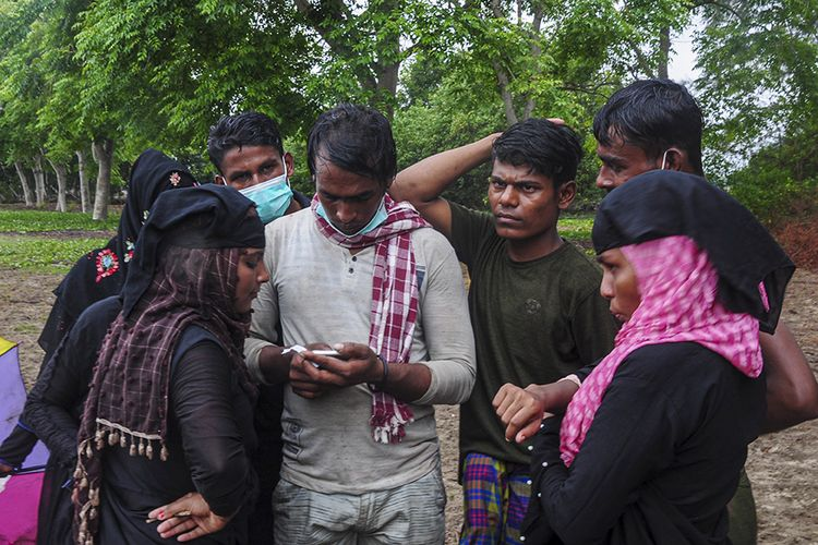 81 Rohingya refugees in Aceh, Friday (4/5/2021)