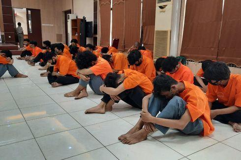 Bawa Senjata Tajam, 28 Pelajar SMK di Bekasi Ditangkap Polisi