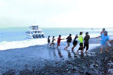 Warga Tolak Kapal Pembawa Bocah Demam Tinggi Berlabuh, Terombang-ambing di Laut Satu Jam