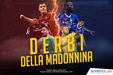 INFOGRAFIK: Derby Della Madonnina, Milan Vs Inter