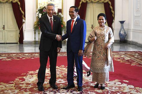Seloroh PM Singapura Saat Bertemu Presiden Jokowi di Istana Merdeka