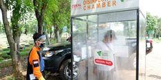 Dompet Dhuafa Hadirkan Bilik Sterilisasi di TPU Pondok Ranggon dan Cek Kesehatan 160 Penggali Kubur