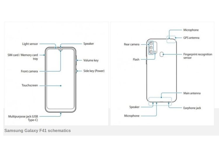 Bocoran render Samsung Galaxy F41