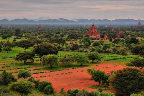 Terpesona Keindahan Kuil di Myanmar