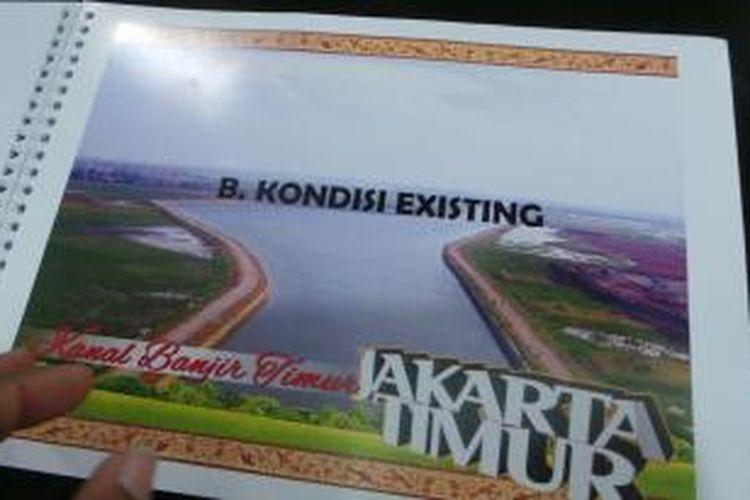 Rencana program penataan Kanal Banjir Timur (KBT) Jakarta Timur.