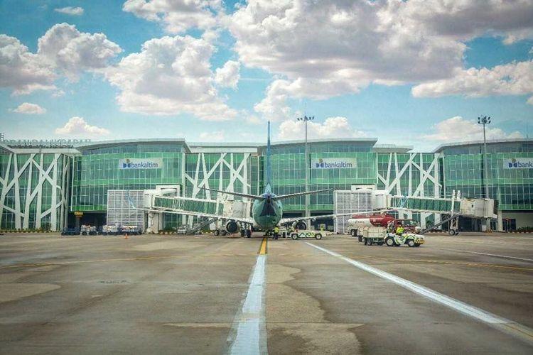 Bandara Sultan Aji Muhammad Sulaiman Sepinggan Balikpapan, Kaltim.