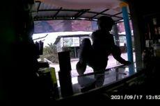 Pencuri Gasak Uang Rp 10 Juta di Konter Ponsel, Aksinya Terekam CCTV